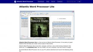 Atlantis Word Processor Crack 4.0.6.13